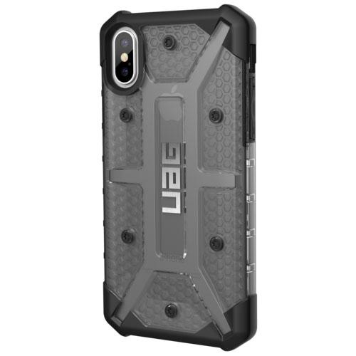 Чехол UAG Plasma Series Case для iPhone X прозрачно-серый AshЧехлы для iPhone X<br>UAG Plasma Series Case обеспечивает максимальную защиту от ударов и падений!<br><br>Цвет товара: Серый<br>Материал: Поликарбонат, термопластичный полиуретан