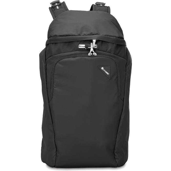 Рюкзак PacSafe Vibe 30 чёрныйРюкзаки<br>Рюкзаки PacSafe созданы не только для покорения городских джунглей, но и для безопасного покорения мира!<br><br>Цвет товара: Чёрный<br>Материал: Текстиль, нержавеющая сталь, пластик