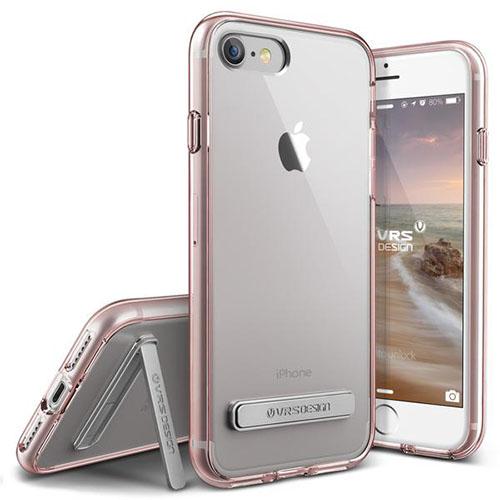 Чехол Verus Crystal Mixx для iPhone 7 (Айфон 7) розовое золото (VRIP7-CMXRG)Чехлы для iPhone 7<br>Чехол Verus для iPhone 7 Crystal MIXX, розовое золото (904684)<br><br>Цвет товара: Розовое золото<br>Материал: Поликарбонат, полиуретан