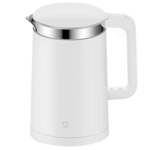 Умный чайник Xiaomi Smart KettleТовары умного дома, офиса<br>Чайник Xiaomi Constant temperature electric kettle WHITE<br><br>Цвет товара: Белый<br>Материал: Пластик, металл