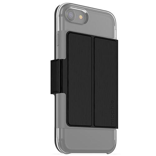 Дополнение для чехла Mophie Hold Force Folio для iPhone 7 (Айфон 7) чёрноеЧехлы для iPhone 7<br>Накладка Mophie Hold Force Folio для чехла Mophie Base Case для iPhone 7<br><br>Цвет товара: Чёрный