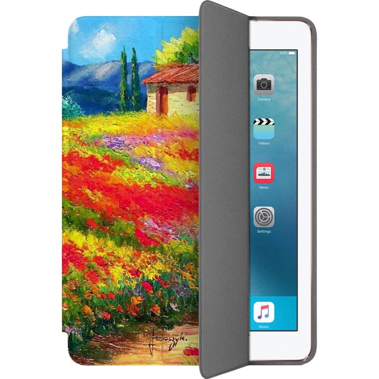 Чехол Muse Smart Case для iPad Pro (10.5) Очаровательный ПровансЧехлы для iPad Pro 10.5<br>Чехлы Muse Smart Case — это индивидуальность, насыщенность красок, оригинальные принты и надёжная защита от повреждений.<br><br>Цвет: Разноцветный<br>Материал: Поликарбонат, полиуретановая кожа