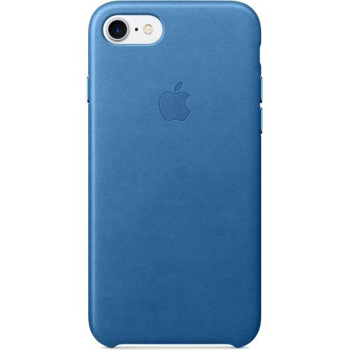 Кожаный чехол Apple Case для iPhone 7 (Айфон 7) синее мореЧехлы для iPhone 7<br>Кожаный чехол Apple Case для iPhone 7 (Айфон 7) синее море<br><br>Цвет товара: Синий<br>Материал: Натуральная кожа