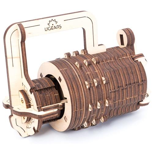 3D-пазл UGears Кодовый замок (Сombination Lock)3D пазлы и конструкторы<br>3D-пазл UGears Замок<br><br>Цвет товара: Бежевый<br>Материал: фанера (ФК)