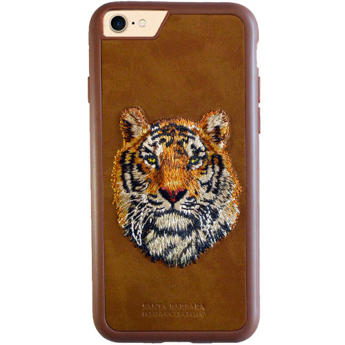 Чехол Santa Barbara Polo & Racquet Club для iPhone 7 Тигр (коричневый)