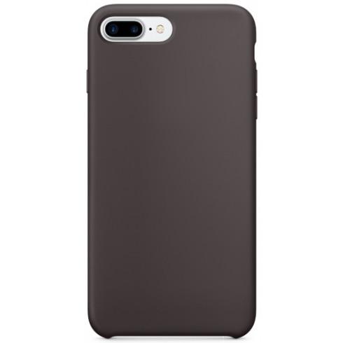 Силиконовый чехол YablukCase для iPhone 7 Plus / 8 Plus Шоколад (Cocoa)Чехлы для iPhone 7 Plus<br>YablukCase – стильный аксессуар, который обеспечит отличную защиту вашему iPhone!<br><br>Цвет: Коричневый<br>Материал: Силикон