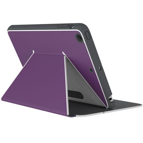 Чехол Speck DuraFolio для iPad Mini 4 фиолетовыйЧехлы для iPad mini 4<br>Чехол Speck DuraFolio - тонкий защитный чехол для iPad Mini 4.<br><br>Цвет товара: Фиолетовый<br>Материал: Поликарбонат, полиуретан