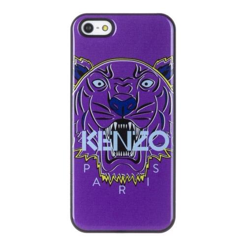 Чехол Kenzo Tiger Head Hard для iPhone 5/5S/SE фиолетовыйЧехлы для iPhone 5s/SE<br>Чехол KENZO для iPhone 5/5s Tiger Hard Violine<br><br>Цвет товара: Фиолетовый<br>Материал: Пластик