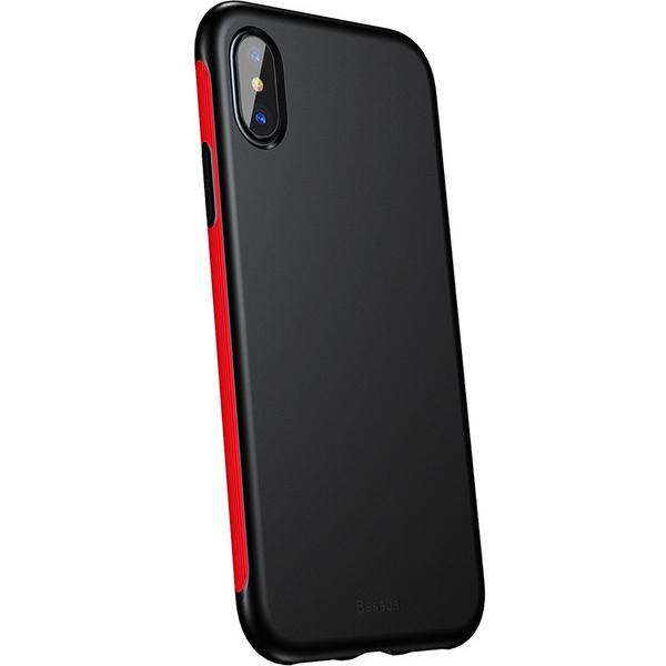 Чехол Baseus Bumper Case для iPhone X красныйЧехлы для iPhone X<br>Baseus Bumper Case сочетает в себе дизайн, функциональность и надёжность.<br><br>Цвет товара: Красный<br>Материал: Поликарбонат, полиуретан