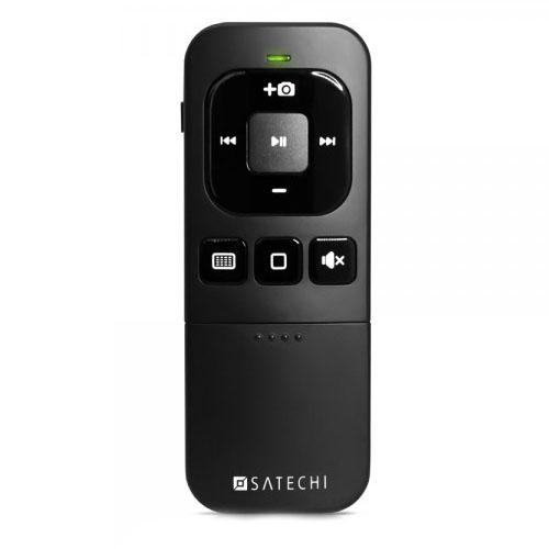 Пульт управления Satechi Bluetooth Multi-Media Remote Control для iPhone, iPad и Mac чёрныйДжойстики для смартфонов<br>Пульт управления Satechi Bluetooth Multi-Media Remote Control для iPhone, iPad и Mac чёрный<br><br>Цвет товара: Чёрный<br>Материал: Пластик