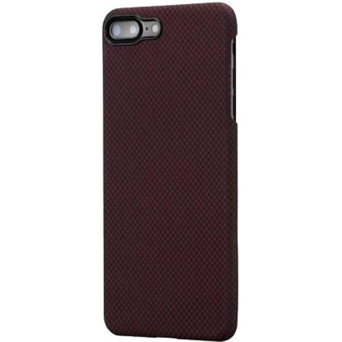 Чехол PITAKA MagCase для iPhone 7 Plus/8 Plus бордовый карбон (плитка)Чехлы для iPhone 7 Plus<br>PITAKA MagCase — воплощение стильного дизайна, феноменальной прочности и впечатляющей функциональности.<br><br>Цвет: Красный<br>Материал: Арамид<br>Модификация: iPhone 5.5