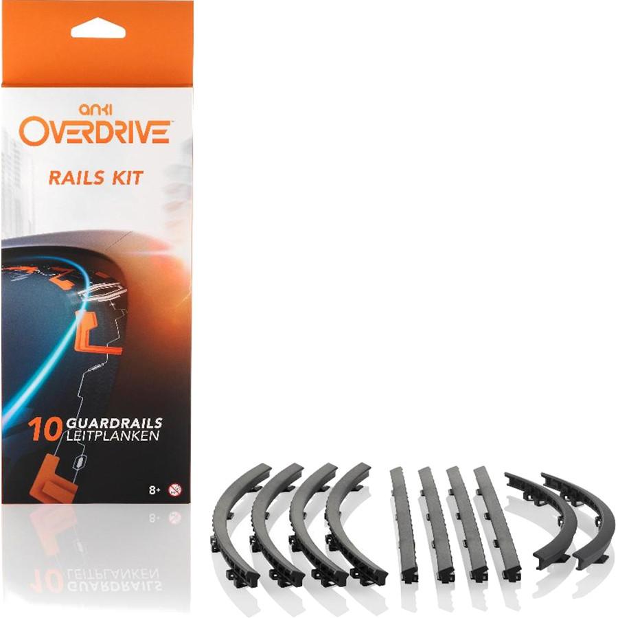 Дополнение к гоночной трассе Anki Overdrive Accessories Rails KitГоночная трасса Anki Drive<br>Этот аксессуар позволит вам увеличить сложность трассы и тем самым лучше оттачивать навыки вождения во время игры.<br><br>Цвет: Чёрный<br>Материал: Пластик