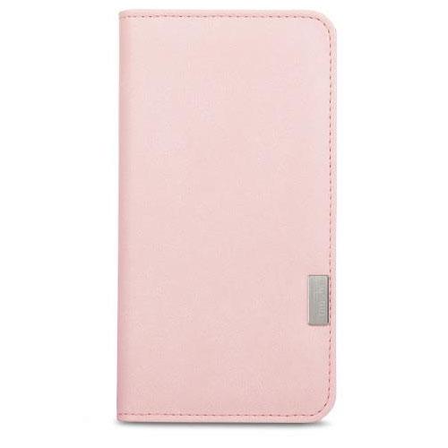 Чехол Moshi Overture Wallet Case для iPhone 7 Plus  (Айфон 7 Плюс) розовыйЧехлы для iPhone 7 Plus<br>В Moshi Overture Wallet встроена накладка, которая обеспечивает высокий уровень защиты от ударов и падений.<br><br>Цвет товара: Розовый<br>Материал: Поликарбонат, полиуретановая кожа