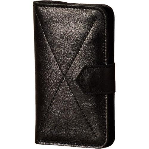Чехол-бумажник Ray Button Kassel для iPhone 5/5S/SE чёрныйЧехлы для iPhone 5s/SE<br>Чехол-бумажник RAY BUTTON для iPhone 5/5s/SE - Kassel Black [30C1S5]<br><br>Цвет товара: Чёрный<br>Материал: Натуральная кожа, войлок