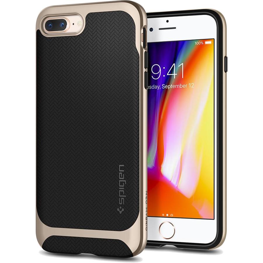 Чехол Spigen Neo Hybrid Herringbone для iPhone 8 Plus / 7 Plus шампань (055CS22231)Чехлы для iPhone 7 Plus<br>Spigen Neo Hybrid Herringbone — стильный и прочный чехол для мощного смартфона Apple iPhone 8 Plus.<br><br>Цвет товара: Золотой<br>Материал: Поликарбонат, термопластичный полиуретан