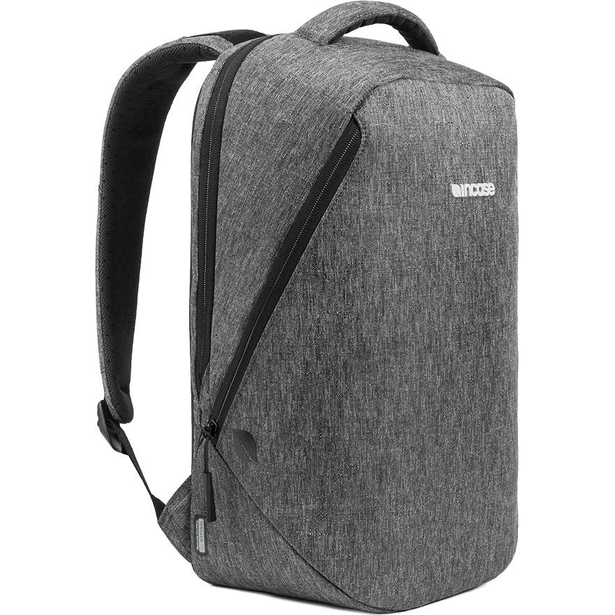 Рюкзак Incase Reform Backpack with Tensaerlite для MacBook 13 серый Heather Black (CL55589)Рюкзаки<br>Прогулки по городу или ежедневные поездки в офис — вместительный рюкзак позволит вам захватить с собой всё<br><br>Цвет: Серый<br>Материал: Меланжевый плетёный текстиль 300D Ecoya