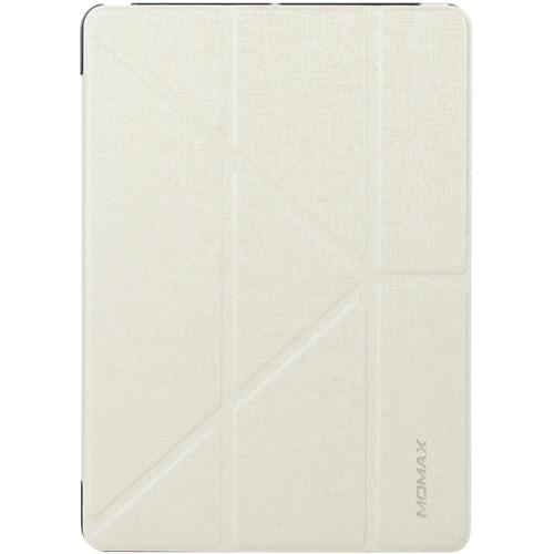 Чехол Momax Flip Cover для iPad 9.7 (2017) белыйЧехлы для iPad 9.7 (2017)<br>Чехол Momax Flip Cover — отличная пара для вашего iPad (2017).<br><br>Цвет товара: Белый<br>Материал: Эко-кожа, пластик