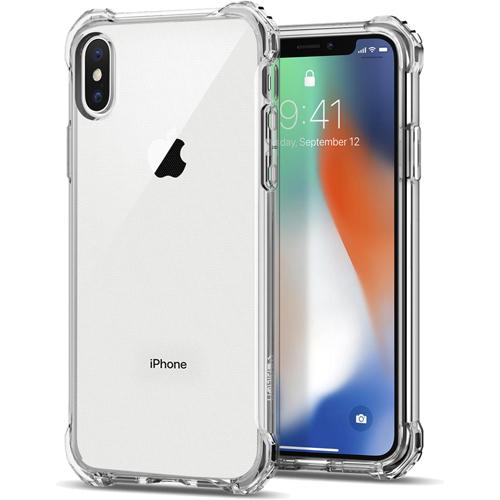 Чехол Spigen Rugged Crystal для iPhone X кристально-прозрачный (057CS22117)Чехлы для iPhone X<br>Термопластичный полиуретан обеспечивает чехлу Rugged Crystal превосходные защитные и амортизирующие свойства.<br><br>Цвет товара: Прозрачный<br>Материал: Термопластичный полиуретан