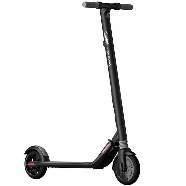 Электросамокат Ninebot KickScooter ES1Самокаты<br>Ninebot By Segway KickScooter ES1 — электросамокат, ездить на котором по-настоящему приятно!<br><br>Цвет товара: Чёрный<br>Материал: Алюминий, пластик