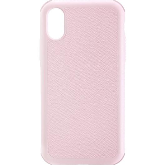 Чехол Just Mobile Quattro Air для iPhone X розовыйЧехлы для iPhone X<br>Чехол Just Mobile Quattro Air даёт вашему iPhone максимальную защиту без дополнительного объёма и утяжеления.<br><br>Цвет: Розовый<br>Материал: Силикон, термопластичный полиуретан