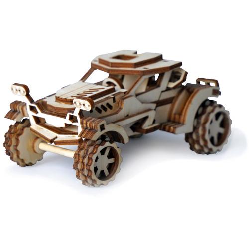 Конструктор 3D Lemmo деревянный Автомобиль «Скорпион»3D пазлы, конструкторы, головоломки<br>Модели Lemmo — это безопасные и экологически чистые конструкторы.<br><br>Цвет товара: Бежевый<br>Материал: Натуральное дерево