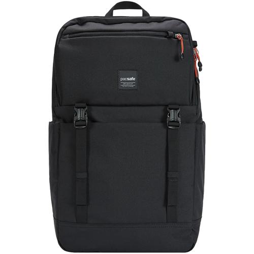 Рюкзак PacSafe Slingsafe LX500 (21 Л) чёрныйРюкзаки<br><br><br>Цвет: Чёрный<br>Материал: Текстиль, нержавеющая сталь, пластик