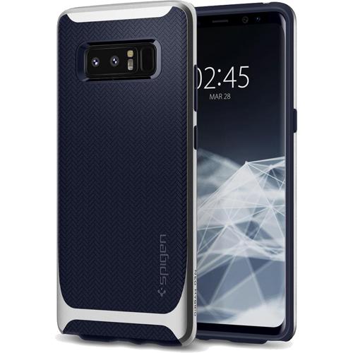 Чехол Spigen Neo Hybrid для Samsung Galaxy Note 8 серебристый (587CS22086)Чехлы для Samsung Galaxy Note<br>Испытайте непревзойденную защиту нового чехла Neo Hybrid от Spigen для Samsung Galaxy Note 8.<br><br>Цвет товара: Серебристый<br>Материал: Поликарбонат, полиуретан