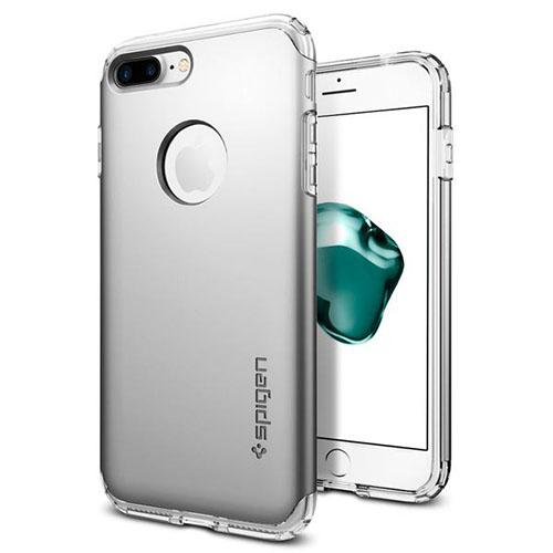 Чехол Spigen Hybrid Armor для iPhone 7 Plus (Айфон 7 Плюс) серебристый (SGP-043CS20698)Чехлы для iPhone 7 Plus<br>Spigen Hybrid Armor превосходно справится с ежедневными трудностями!<br><br>Цвет товара: Серебристый<br>Материал: Поликарбонат, полиуретан