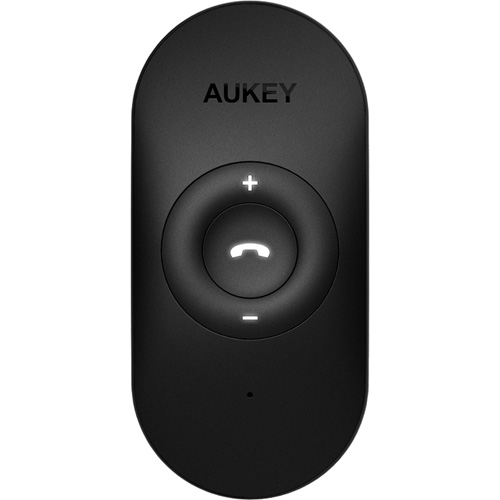 Беспроводной ресивер Aukey Bluetooth 4.1 (BR-C9) чёрныйКабели и подставки для наушников<br>Ресивер Aukey (BR-C9) будет особенно удобен в поездках, поскольку он позволит не отвлекать ваше внимание от дороги и не отнимать руки от руля.<br><br>Цвет товара: Чёрный<br>Материал: Пластик