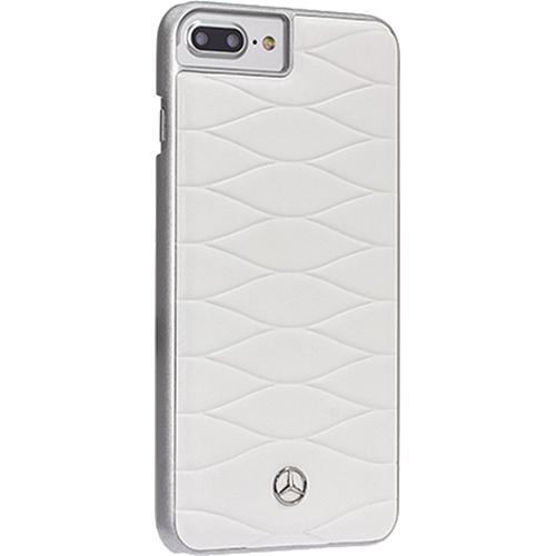 Чехол Merсedes-Benz Pattern III для iPhone 7 Plus белая кожа