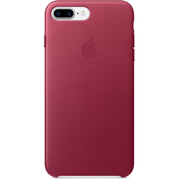 Кожаный чехол Apple Case для iPhone 7 Plus (Айфон 7 Плюс) лесная ягодаЧехлы для iPhone 7/7 Plus<br>Кожаный чехол Apple Case для iPhone 7 Plus (Айфон 7 Плюс) лесная ягода<br><br>Цвет товара: Красный<br>Материал: Натуральная кожа