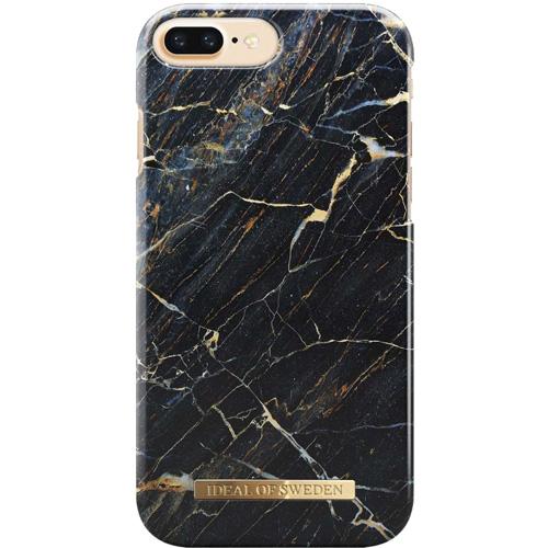 Чехол iDeal of Sweden Fashion Case для iPhone 8 Plus/7 Plus/6 Plus (Port Laurent Marble)Чехлы для iPhone 6/6s Plus<br>Чехол iDeal of Sweden Fashion Case станет истинным украшением самого лучшего смартфона!<br><br>Цвет товара: Чёрный<br>Материал: Пластик, замша