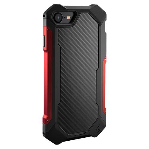 Чехол Element Case Sector для iPhone 7 чёрный/красныйЧехлы для iPhone 7<br>Каждая линия Element Case Sector была тщательно продумана и обработана.<br><br>Цвет товара: Красный<br>Материал: Металл, пластик