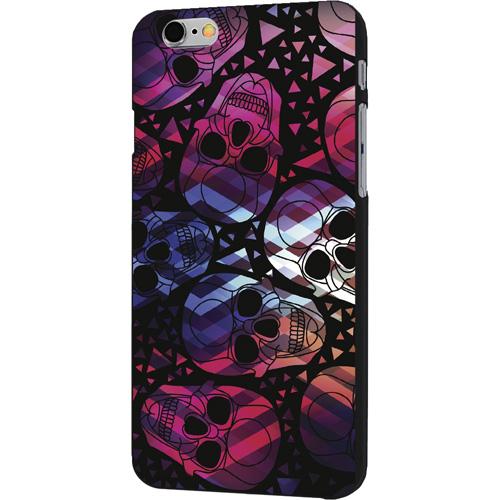 Чехол iPapai «Череп» (Паттерн) для iPhone 7Чехлы для iPhone 7<br>Чехол iPapai «Череп» для тех, кто обладает не только хорошим вкусом и оригинальностью, но и ценит безопасность своего гаджета.<br><br>Цвет товара: Разноцветный<br>Материал: Силикон