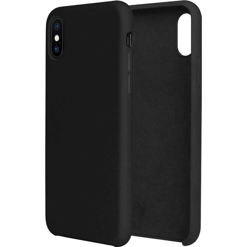 Силиконовый чехол G-CASE Original Flexible Silicone Gel Case для iPhone X чёрныйЧехлы для iPhone X<br>Чехол из гелеобразного силикона с мягкой подкладой из микрофибры. Он гибкий и лёгкий, идеально облегающий корпус мощного смартфона iPhone X.<br><br>Цвет товара: Чёрный<br>Материал: Гелеобразный гиппоаллергенный силикон, микрофибра