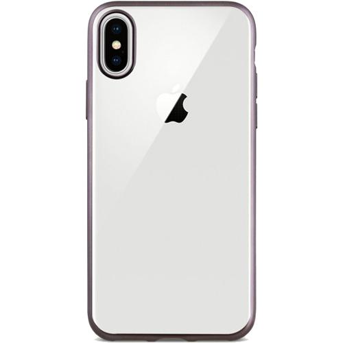 Чехол Uniq Glacier Frost для iPhone X розовое золотоЧехлы для iPhone X<br>Защитите свой новенький iPhone X с помощью тонкого, прочного и прозрачного чехла Uniq Glacier Frost.<br><br>Цвет: Розовое золото<br>Материал: Поликарбонат, полиуретан