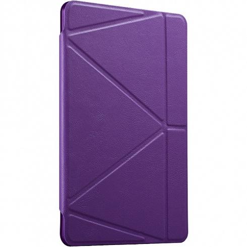 Чехол Gurdini Flip Cover для iPad Pro 10.5 фиолетовыйЧехлы для iPad Pro 10.5<br>Изящный и надёжный чехол Gurdini Flip Cover — идеальный аксессуар для вашего iPad Pro 10.5.<br><br>Цвет товара: Фиолетовый<br>Материал: Полиуретановая кожа, пластик