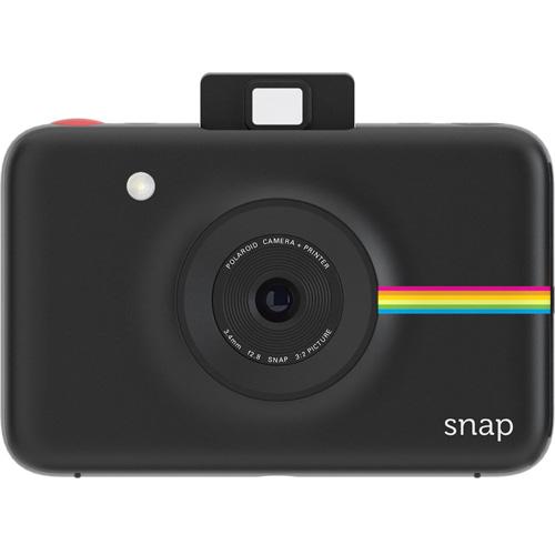 Фотоаппарат моментальной печати Polaroid Snap Camera чёрныйВидеокамеры, очки, экшн-камеры<br><br><br>Цвет товара: Чёрный<br>Материал: Пластик