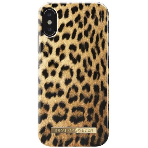 Чехол iDeal of Sweden Fashion Case для iPhone X (Wild Leopard)Чехлы для iPhone X<br>Чехол iDeal of Sweden Fashion Case станет истинным украшением самого лучшего смартфона!<br><br>Цвет товара: Разноцветный<br>Материал: Пластик, замша