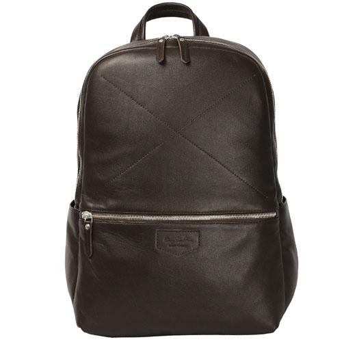 Рюкзак Ray Button Hastings для MacBook 13 тёмно-коричневыйРюкзаки<br>Ray Button Hastings - это стильный и удобный аксессуар на каждый день.<br><br>Цвет товара: Коричневый<br>Материал: Натуральная кожа
