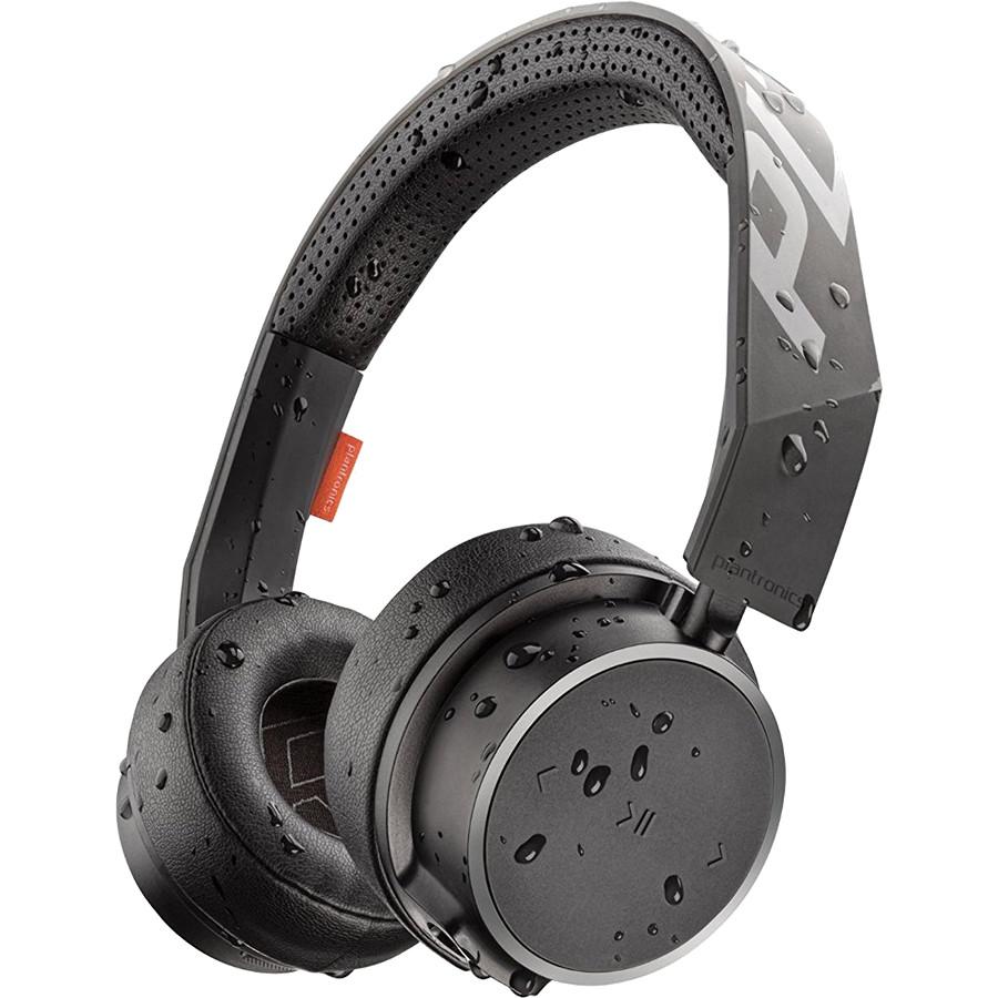 Наушники Plantronics BackBeat FIT 505 Sport чёрныеНакладные наушники<br>Наушники BackBeat Fit серии 500 разрабатывались для активных людей, они не боятся пота и влаги, что позволяет вам слушать вдохновляющие треки даже...<br><br>Цвет товара: Чёрный<br>Материал: Пластик, полиуретан, поролон, нанопокрытие P2i