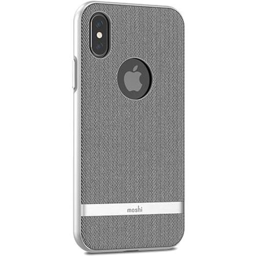 Чехол Moshi Vesta для iPhone X серый