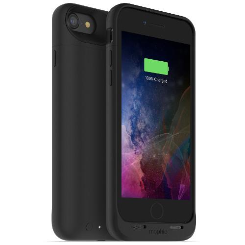 Чехол-аккумулятор Mophie Juice Pack Air на 2525 мАч для iPhone 7 чёрныйЧехлы для iPhone 7<br>Mophie Juice Pack Air — это идеальный чехол - тонкий и легкий, он обеспечит ваш новенький iPhone 7 100% защитой и энергией.<br><br>Цвет товара: Чёрный<br>Материал: Поликарбонат, резина
