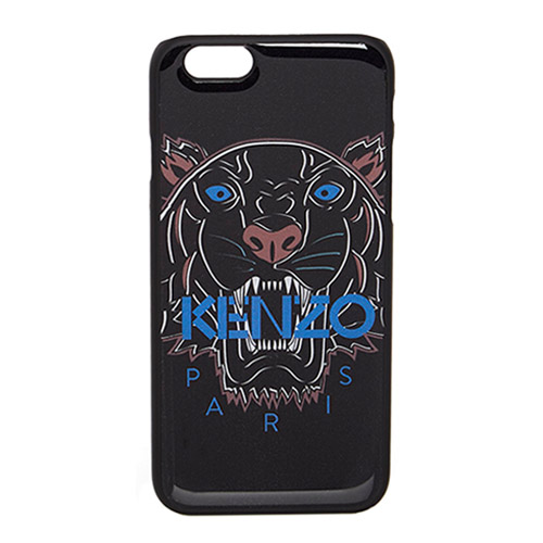 Чехол Kenzo Tiger Head Hard для iPhone 6/6S чёрный