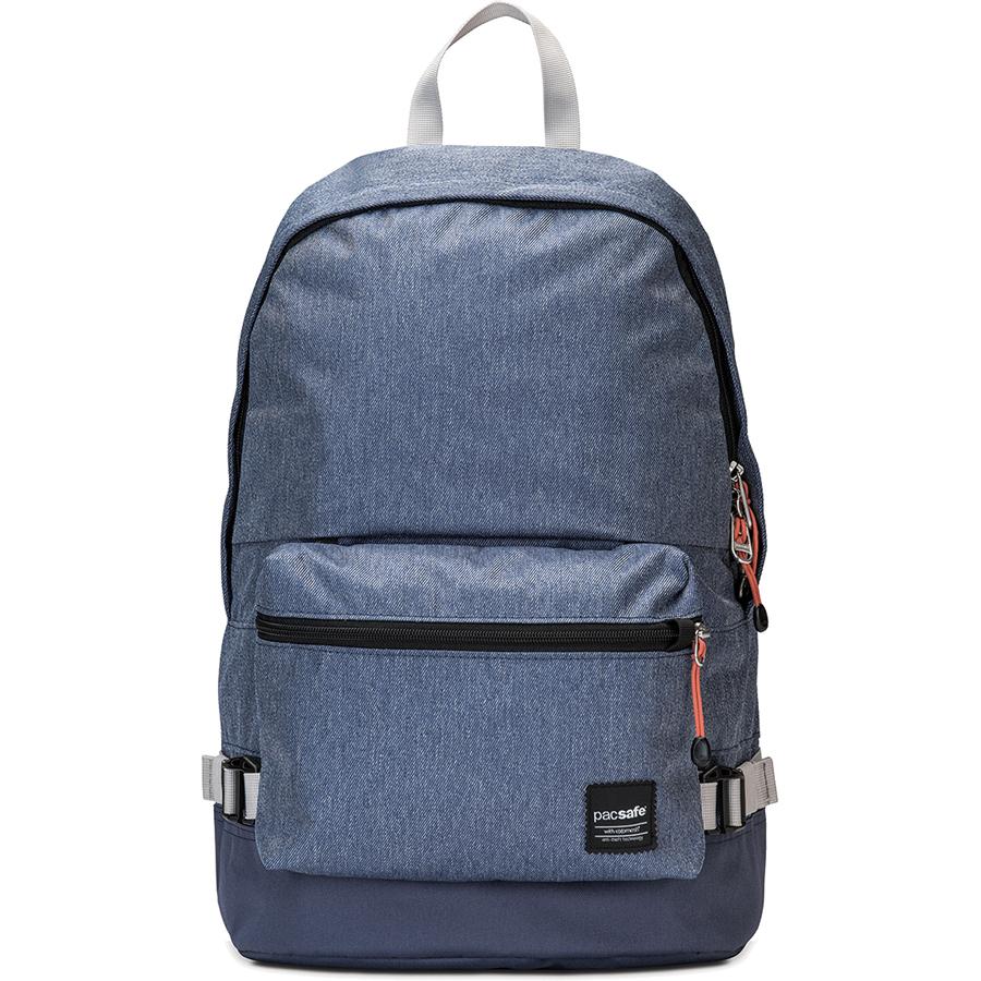 Рюкзак Pacsafe Slingsafe LX400 синий DenimРюкзаки<br>Рюкзак Pacsafe Slingsafe LX400 обеспечит максимальную защиту для ваших вещей!<br><br>Цвет товара: Синий<br>Материал: Текстиль, нержавеющая сталь, пластик