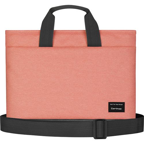 Сумка Cartinoe Realshine Shoulder Bag для MacBook 15 персиковаяСумки для ноутбуков<br>Cartinoe Realshine Shoulder Bag станет верным спутником активного, делового человека.<br><br>Цвет: Розовый<br>Материал: Текстиль (водоотталкивающая ткань)