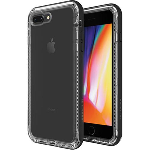 Чехол LifeProof NEXT для iPhone 7 Plus / 8 Plus чёрный Black CrystalЧехлы для iPhone 7 Plus<br>Ещё никогда защита не сочеталась с высокой функциональностью.<br><br>Цвет: Чёрный<br>Материал: Пластик, силикон