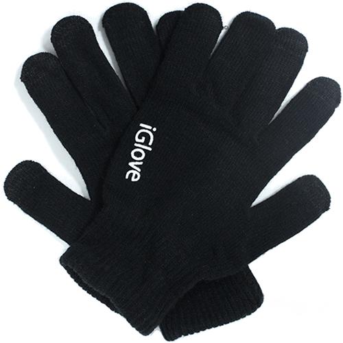 Перчатки iGloves (r3) для iPhone/iPod/iPad/etc чёрные (Размер M)Перчатки для экрана<br>Перчатки iGloves r3 - черные<br><br>Цвет товара: Чёрный<br>Материал: Акрил<br>Модификация: M