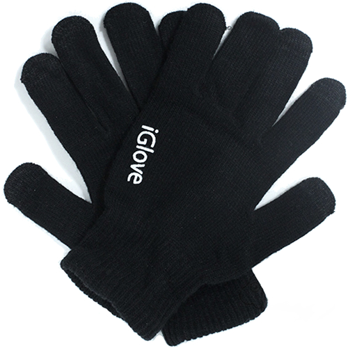 Перчатки iGloves (r3) для iPhone/iPod/iPad/etc чёрные (Размер M) от iCases