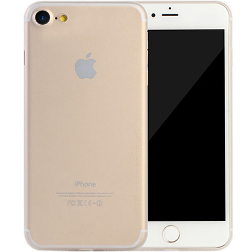 Чехол Memumi Ultra Slim 0.3 для iPhone 8 белый полупрозрачныйЧехлы для iPhone 8<br>Один из самых тонких, надёжных и привлекательных чехлов для вашего любимого смартфона!<br><br>Цвет товара: Прозрачный<br>Материал: Пластик